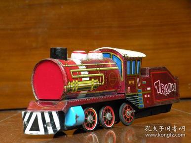780年代 铁皮火车玩具 怀旧老玩具 老铁皮玩具收藏