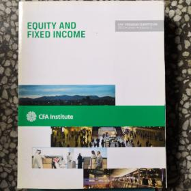 CFA:EQUITY AND FIXED INCOME(Volume5)