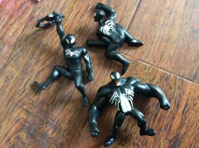 蜘蛛侠模型人玩具3个,请看图看好下单以免纠纷,只能发快递