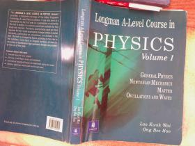 longman a level course in physics volume 1