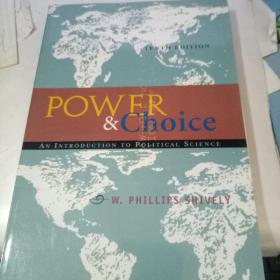 Power & Choice: An Introduction to Political Science(英文原版 权力及选择:政治学导论)
