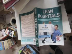 Lean Hospitals: Improving Quality Patient Safety And Employee Engagement Second Edition 样书