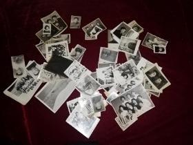 怀旧老照片 一堆合售(原照,如图自鉴)