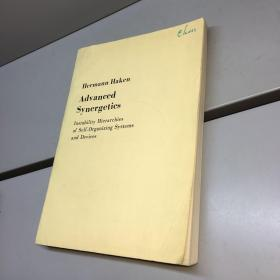 高等协同学---自组织系统和组件的不稳性体系 英文版