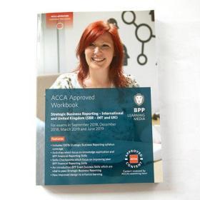 英文原版ACCA Strategic Business Reporting Workbook(SBR)