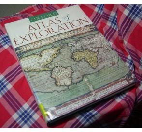 1996年初版 牛津探险历史地图集 Oxford Atlas of Exploration 众多历史地图、事件、人物