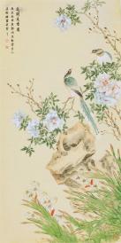 【名家书法 字画】,(真迹,保真,只卖真迹 ), 当代花鸟画家, 河南省图片