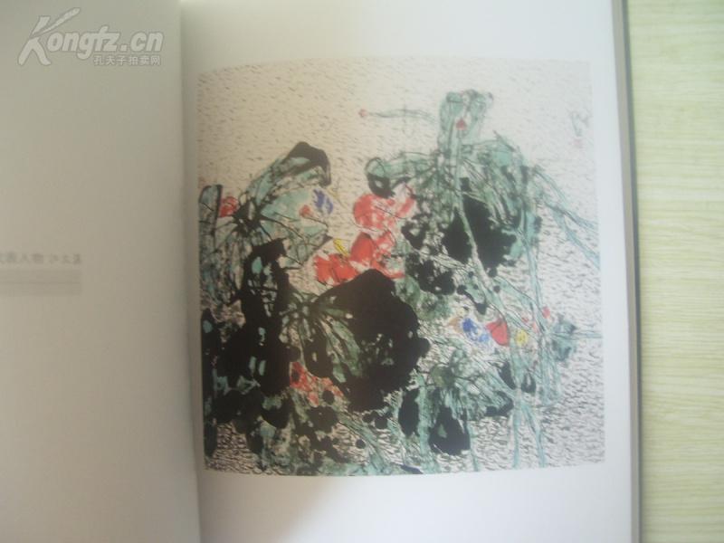 大16开 大厚册 《当代中国画坛花鸟画代表人物画集 江文湛》9品上图片
