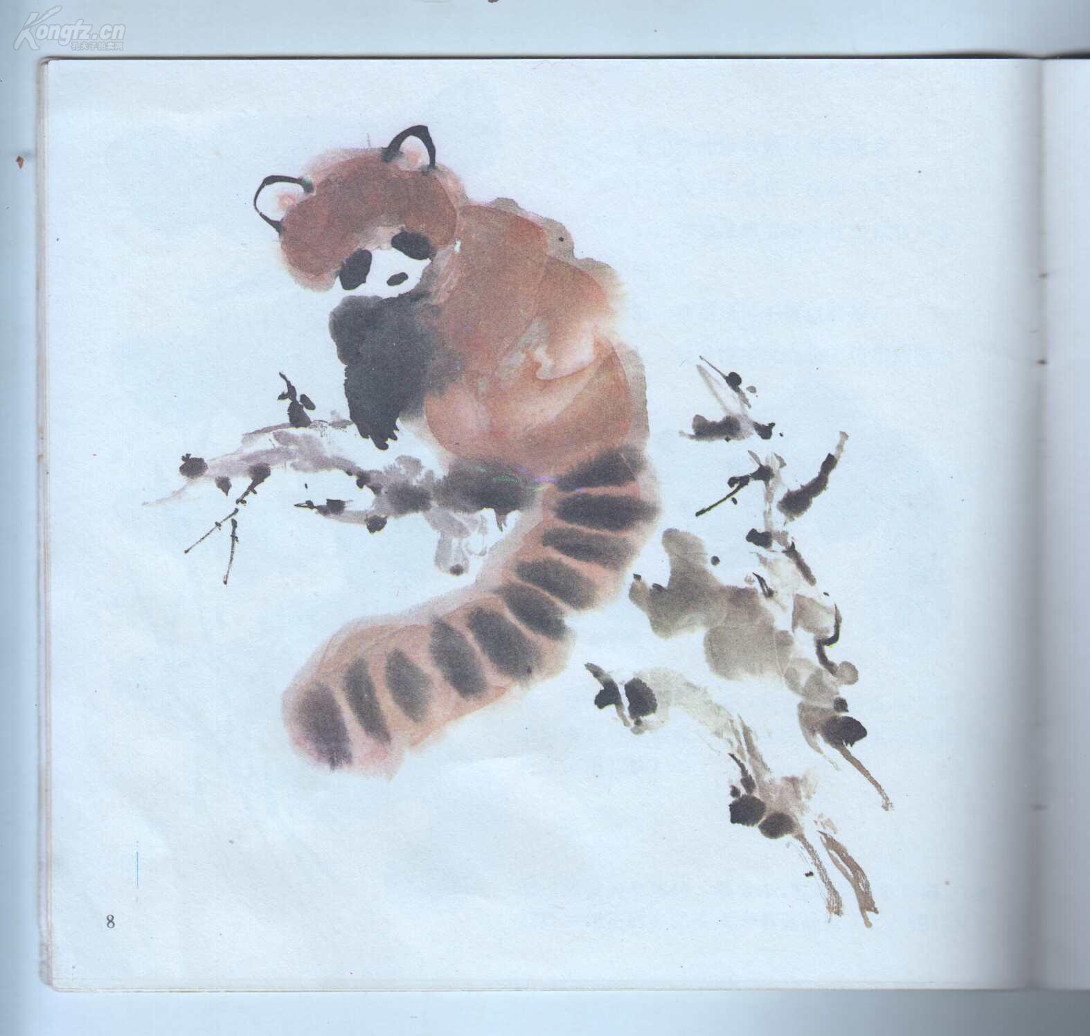 《怎样画猫.小熊猫.松鼠》图片