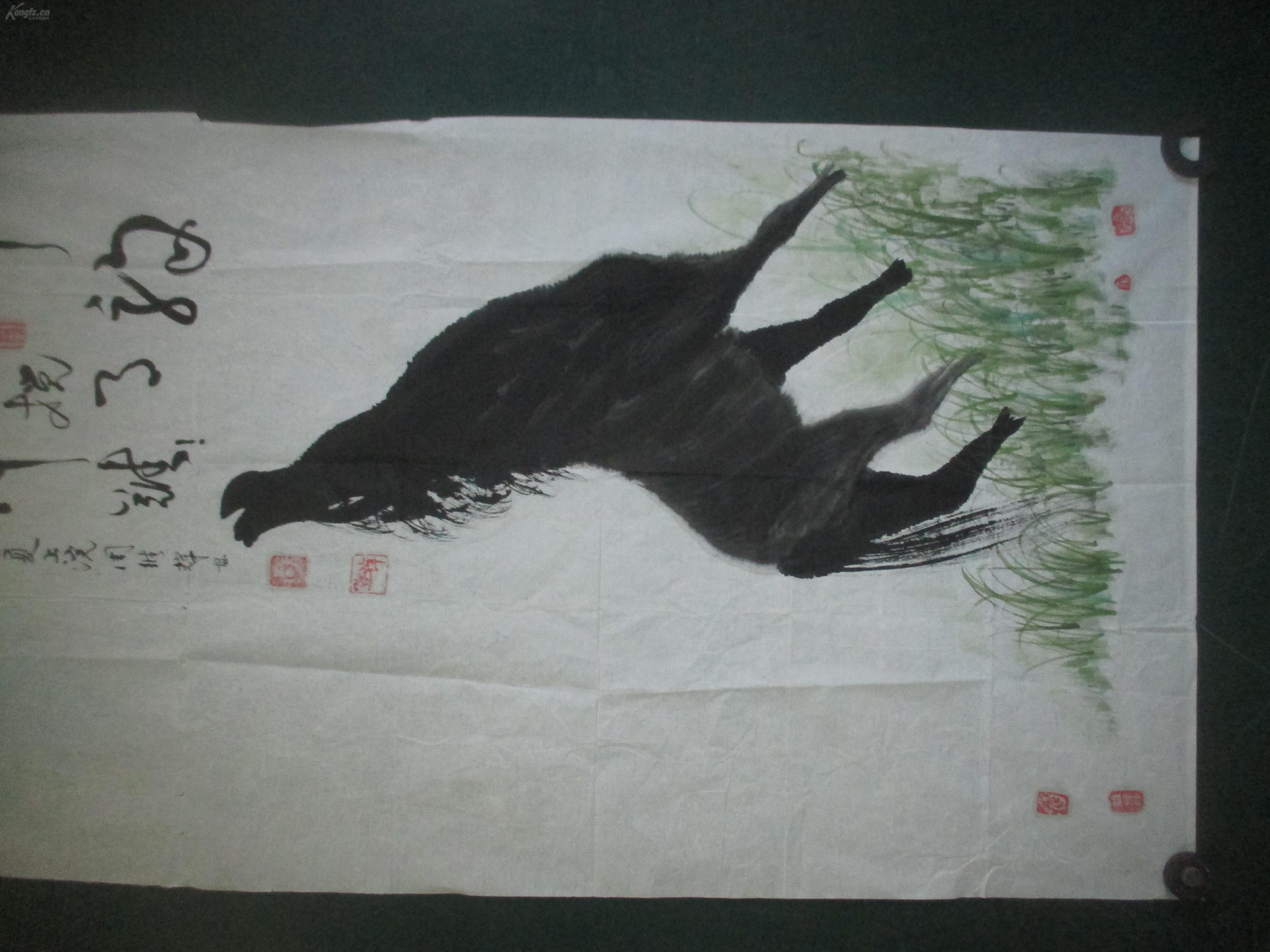 现为中国书画家联谊会会员,中国书画收藏研究院理事 周维辉 国画一幅图片