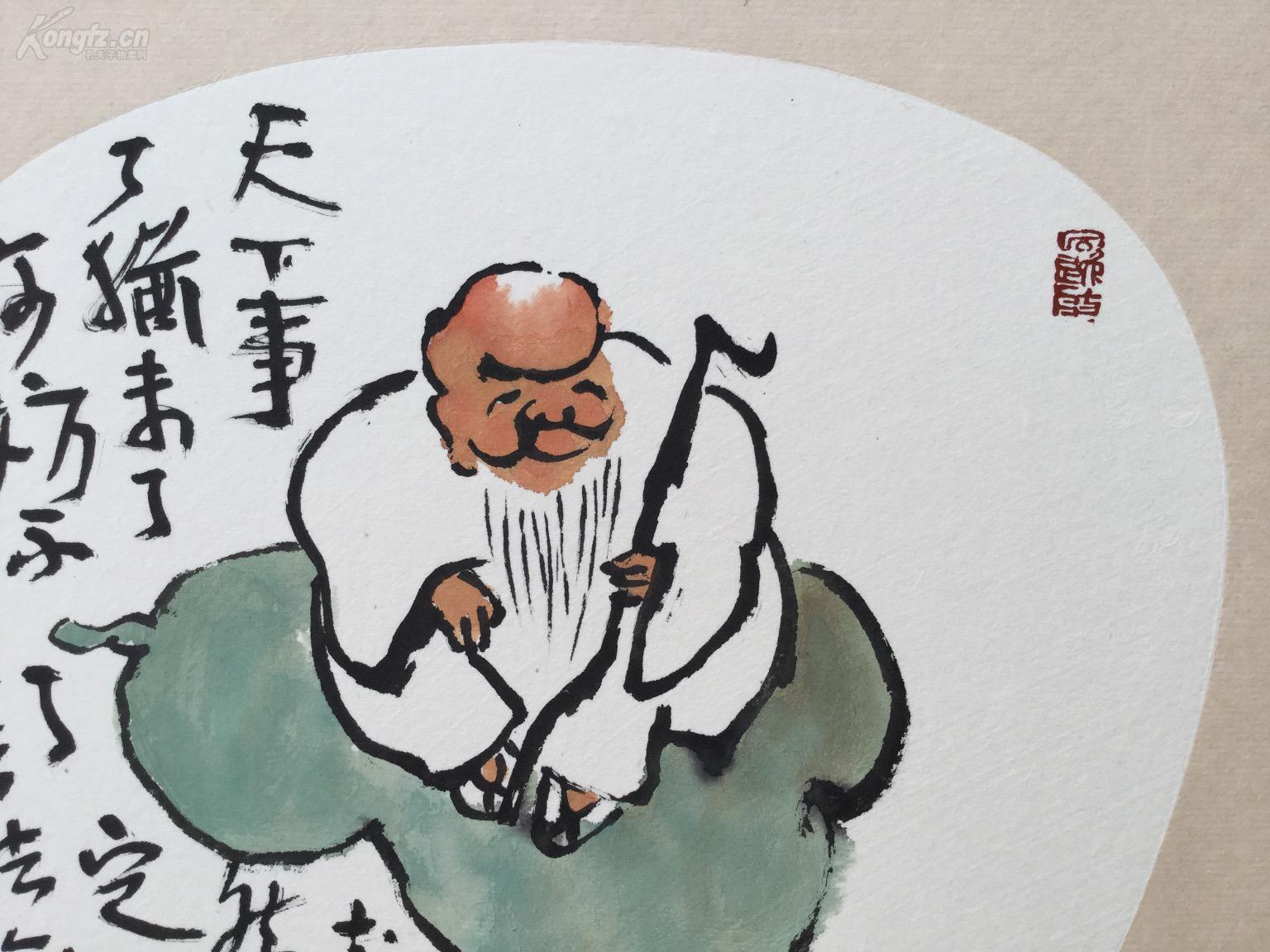新文人水墨--福禄寿 李英杰作品书画真迹图片