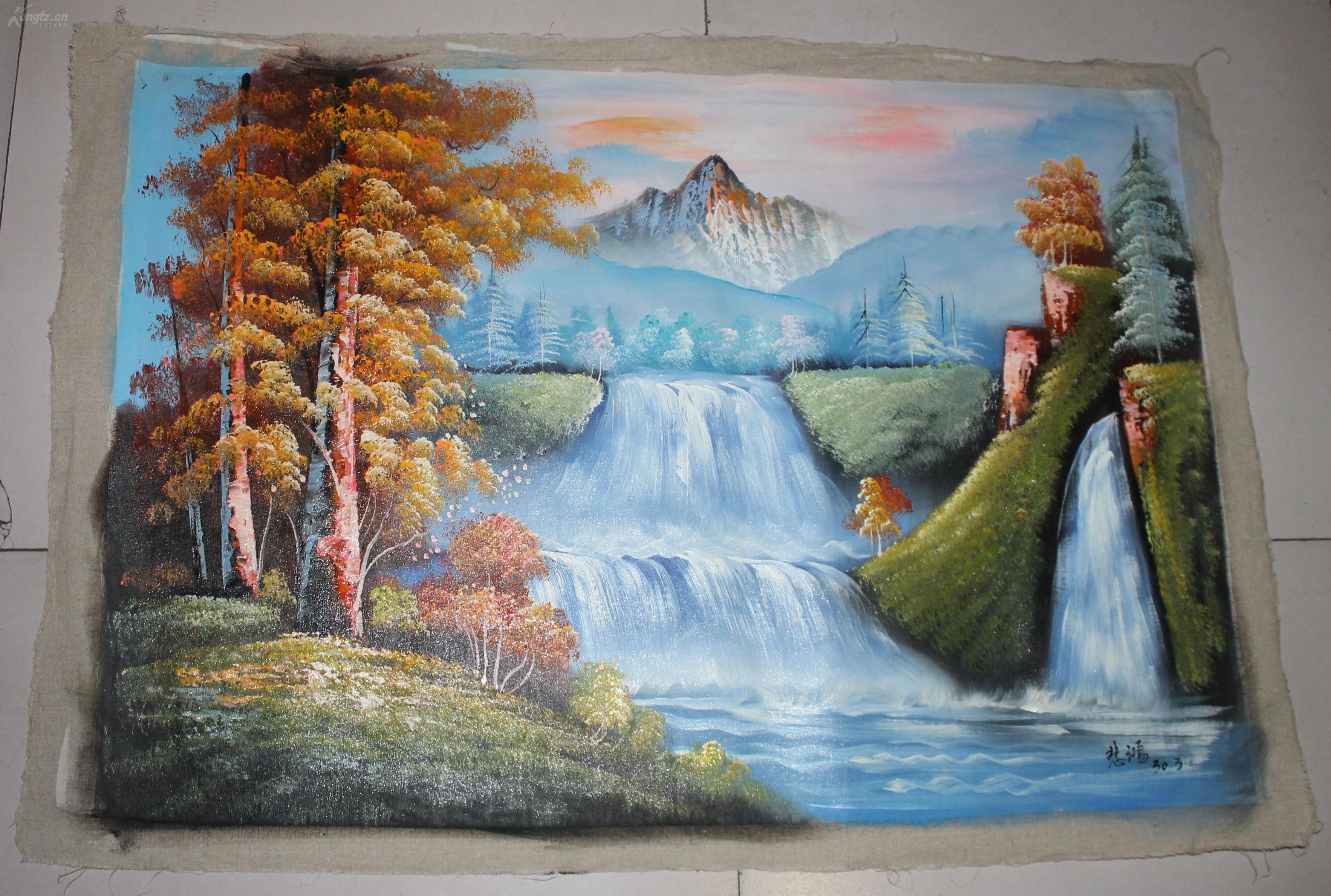 现代油画美术-现代油画