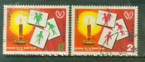 中国台湾 1981年残废人年2全旧