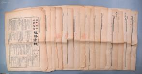 1932年 《国立北平师范大学校务汇报》第十一期至三十一期 共存二十一期(内容涉及为火灾事致教育部长电、教务会议、校务会议、西文图书、月刊投稿简章等;详见品相描述)HXTX104835