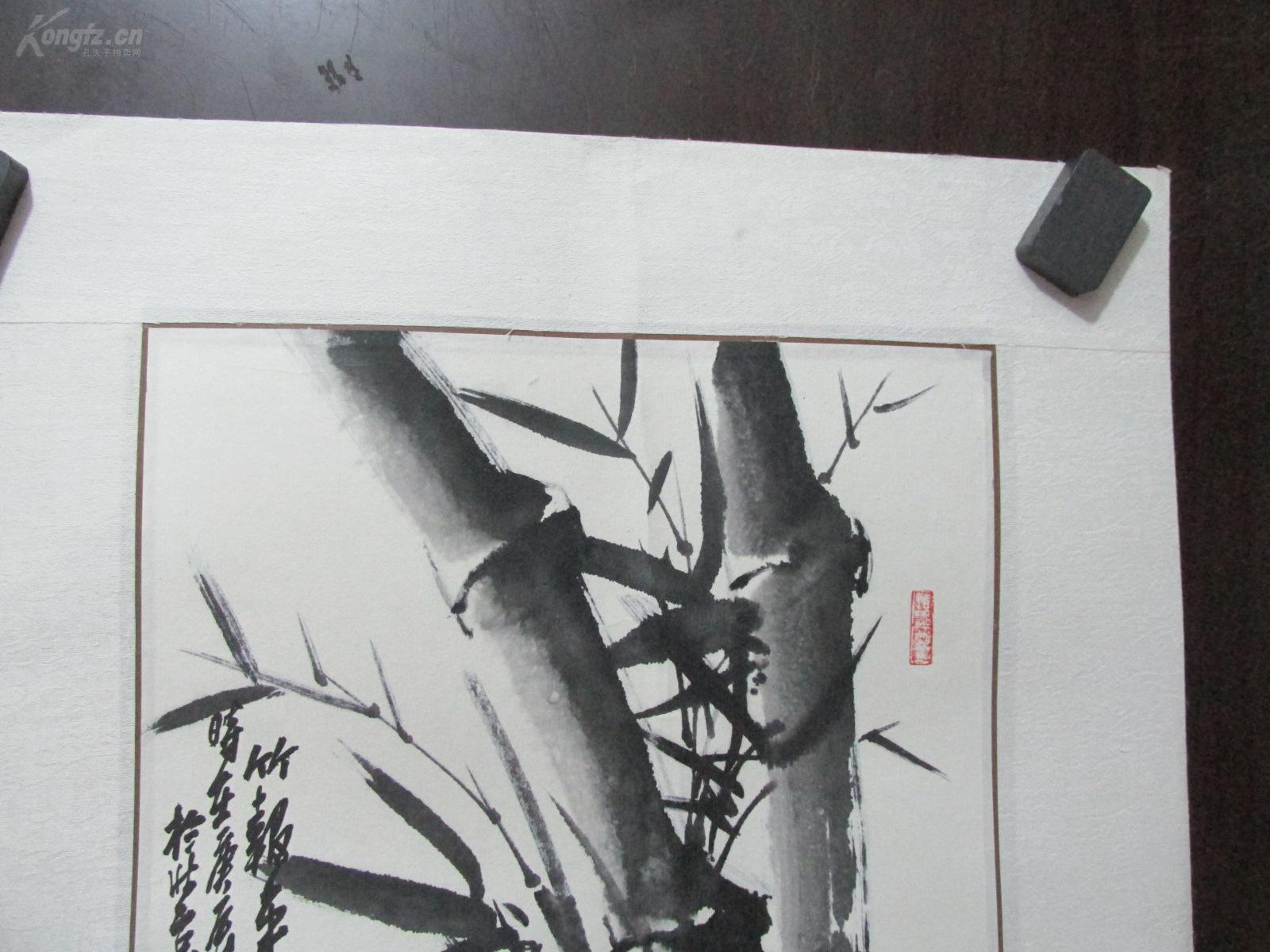 中央电视中央电视台书画频道,张大林花鸟画讲座 张大林 绘 竹报年安图片