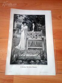 1890年木刻版画《最后一次尝试》(Der Letzte Versuch)---40.5*29厘米--木刻艺术欣赏(z5)