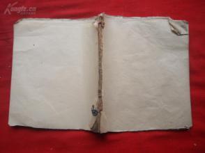 清朝空白本一册,双页60面,长16.5cm15cm,品好如图。
