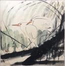 中国美术家协会会员、上海美术家协会理事【杨正新】    精品写意纯手绘