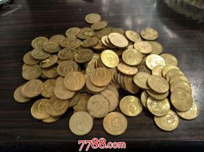 98年梅花五角100枚原币