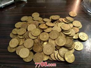 95年梅花五角100枚原币