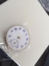 英国回流,《百达翡丽怀表机芯,可见机芯图标,可运行,需要洗油,直径30.1mm,可以改装手表》