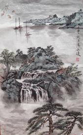 江苏省国画院创始人之一 张文俊 山水
