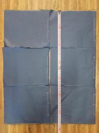 民国时期手工白绵纸上的地方画家六册手绘画谱!!长28厘米宽21厘米大开本!无名画谱,五册画的是竹,一册画的是梅,每一册都全是手绘图!!022