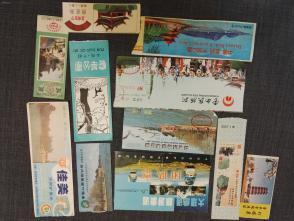 云南各地景点     1990前后的门票
