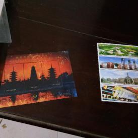 邮票两小张