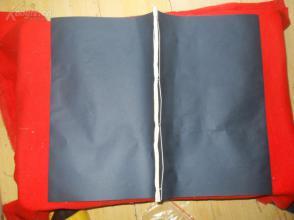 民国珂罗版画册:《陈白阳花卉》民国23年。 品相如图
