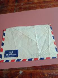 1984年江苏省无锡市39803部队航空实寄封一个