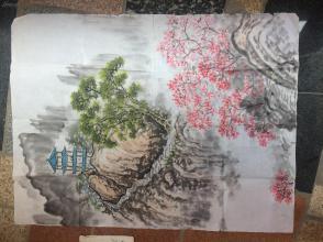 《山水国画》---原画