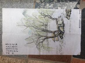 《临华山夏木荷亭》---原画