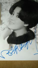 邵氏女星 何莉莉  签名肖像照一张(尺寸13.9*9cm)