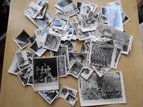 老照片【70年代,部队宣传队文艺兵照片102张】