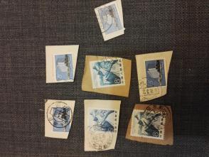 一堆60,70年代的残票2    这批邮票全部保真,假一赔三