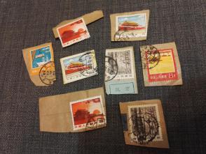 8张60,70年代的邮票   这批邮票全部保真,假一赔三
