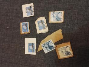 7张60,70年代的邮票   这批邮票全部保真,假一赔三