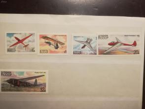 苏联邮票 1982年 苏联滑翔运动史5 全