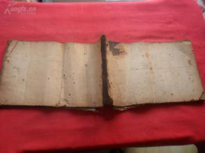 清朝老帐本1厚册,66面,长16.5cm28cm,品如图,
