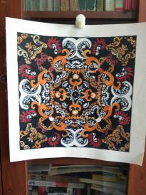 西美原创《绣片》,每幅唯一,但凡装框,就是装饰精品!有品位,值得收藏!