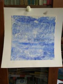 西美原创《冰山》,每幅唯一,但凡装框,就是装饰精品!有品位,值得收藏!