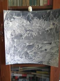 西美原创《水墨韵味5》,每幅唯一,但凡装框,就是装饰精品!有品位,值得收藏!