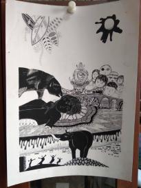 西美原创《故事插画》,每幅唯一,但凡装框,就是装饰精品!有品位,值得收藏!