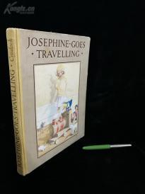 英文民国大开本珂罗版童书《乔瑟芬的旅行》