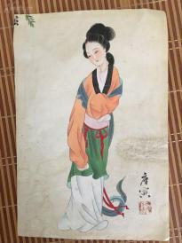唐寅丶仕女图