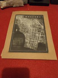 民国南京地图:《首都道路系统图》——不同于其他年份印制的