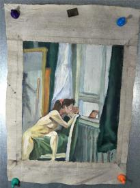 油画家  肖千   油画  人体艺术