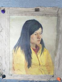 油画家  娟子   油画  女人