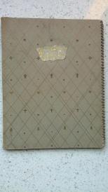 44)满洲时期笔记本、练习本,共五本,最后一本还有满洲印刷株式会社版权页